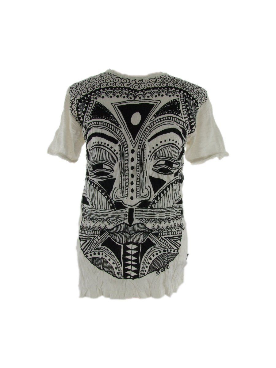 Men's t-shirt Sure Khon Mask White