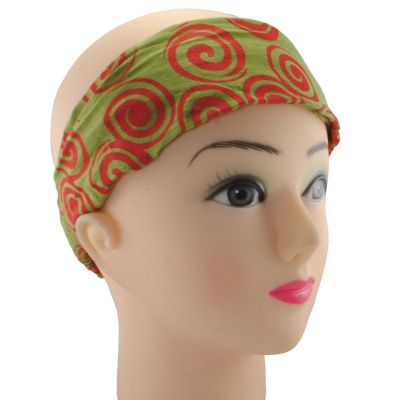 Headband Gulung Hijau