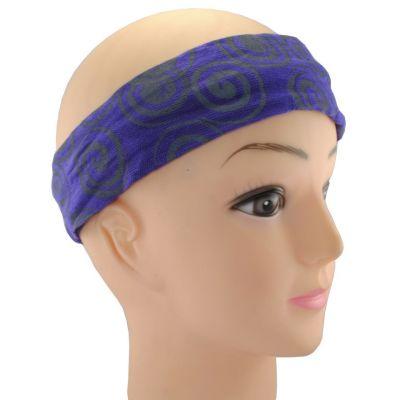 Headband Gulung Ungu