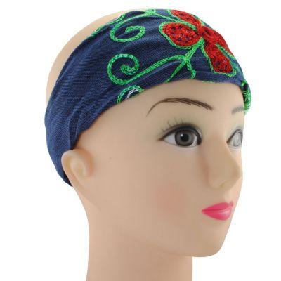 Headband Kilau Biru