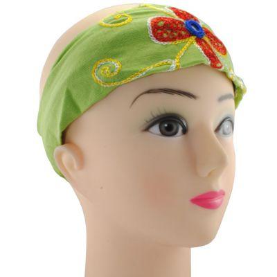 Headband Kilau Hijau