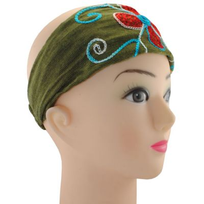 Headband Kilau Khaki