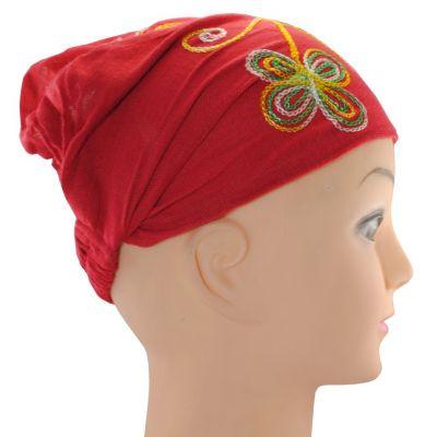 Headband Kilau Merah
