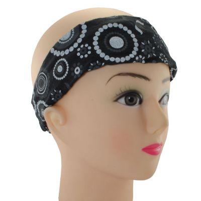 Headband Mengitari Hitam