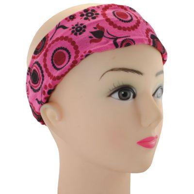 Headband Mengitari Mawar