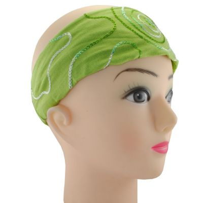 Headband Tampal Hijau