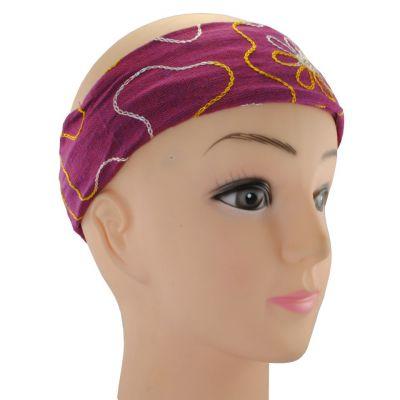 Headband Tampal Mawar