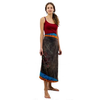 Long skirt embroidered ethno Bhamini Akar
