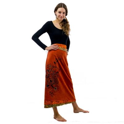 Skirt Bhamini Jeruk