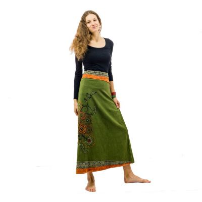 Skirt Bhamini Hijau