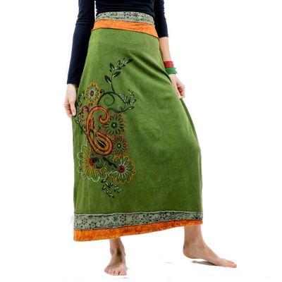 Long skirt Bhamini Hijau