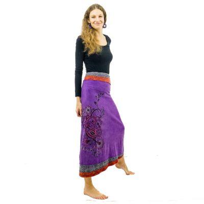 Skirt Bhamini Ungu