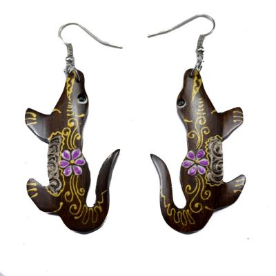 Earrings Hippie Crocodiles
