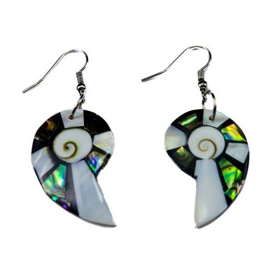 Earrings Elegant Gastropods