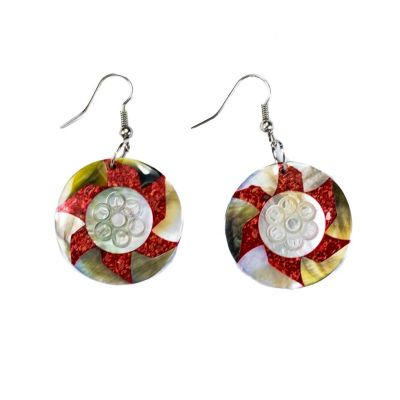 Earrings Stellar flower