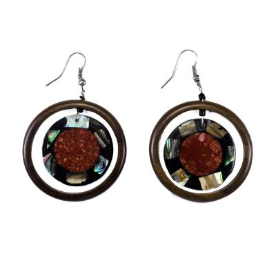 Earrings Sea on Mars