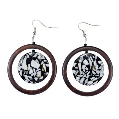 Earrings Sea depth