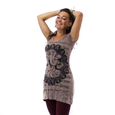 Dress (tunic) Sure Ganesh Brown