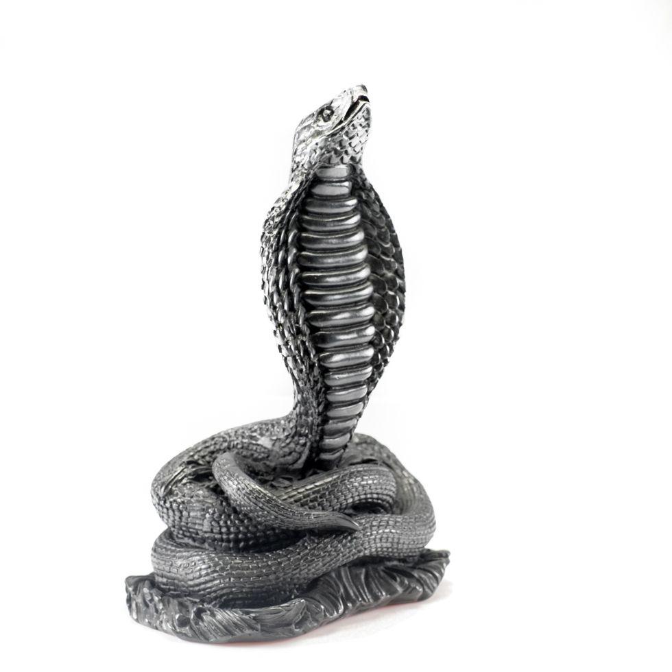 Resin statuette Cobra