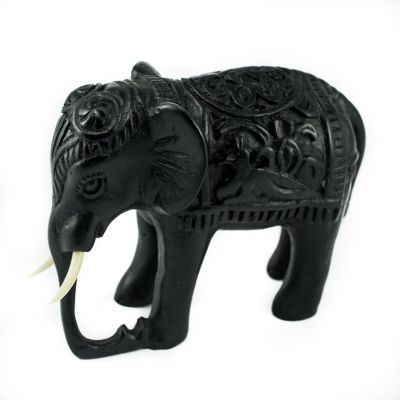 Statuette Elephant - decorated