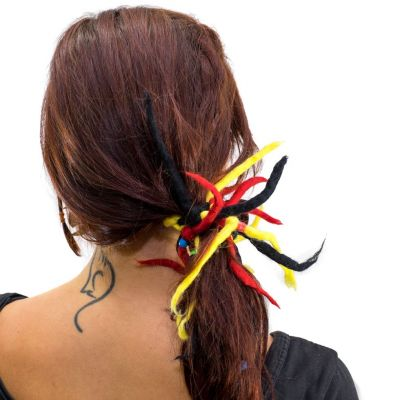 Dreads Red-yellow-black