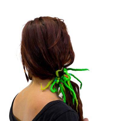 Green dreads