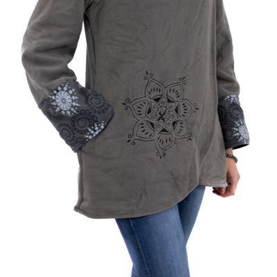 Jacket Gautami Kelabu