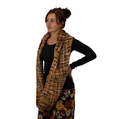 Infinity scarf Yuvika Earth