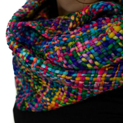 Infinity scarf Yuvika Rainbow