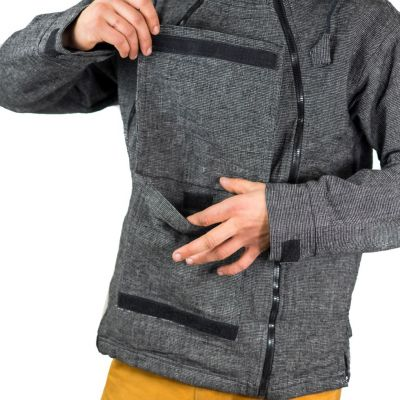 Men's Jacket Hardik Kelabu