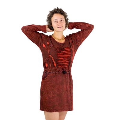 Dress Kala Mawar