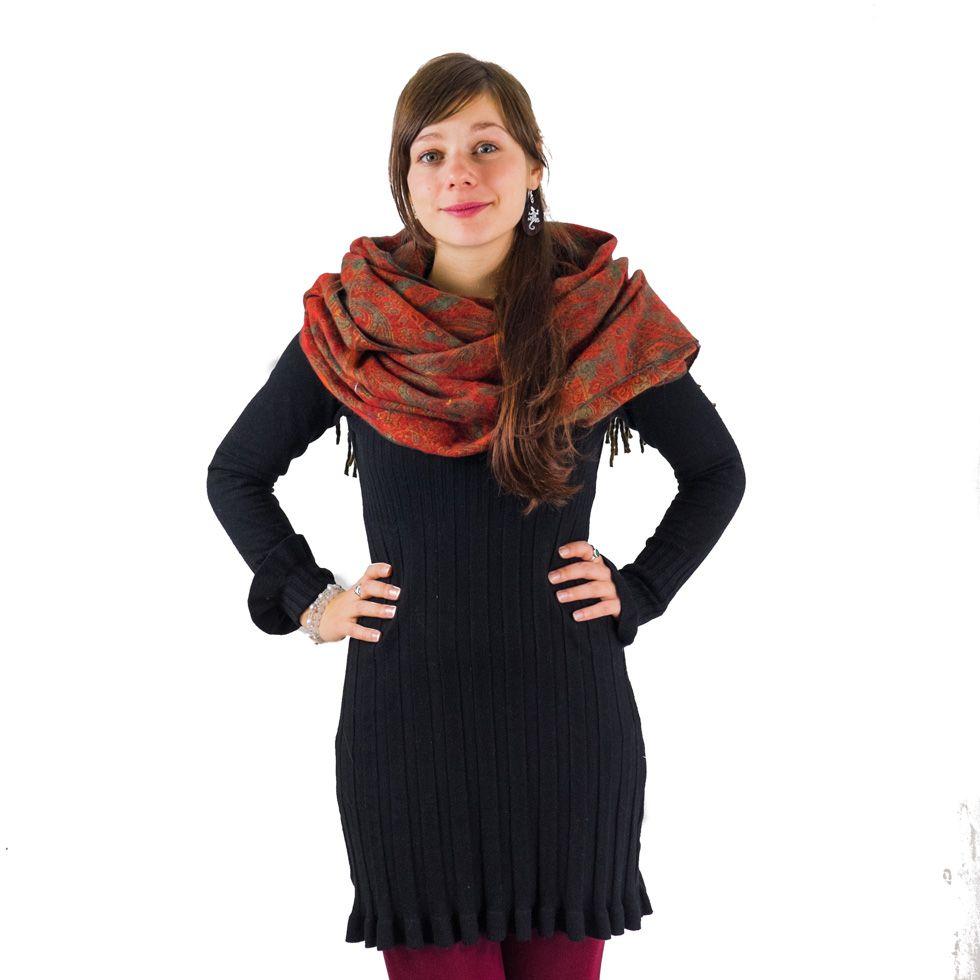 Acrylic scarf Manju Autumn