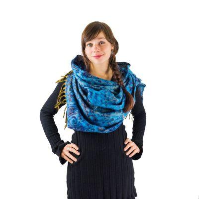 Acrylic scarf Manju Sky