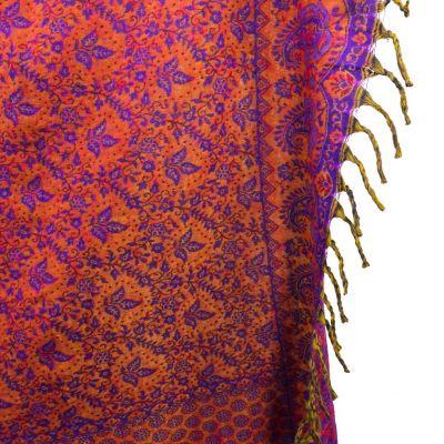 Acrylic scarf / plaid Adrika Enchanted