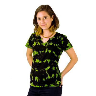 Women's t-shirt with short sleeves Benita Green