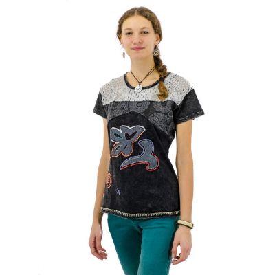 Women's t-shirt Daya Hitam