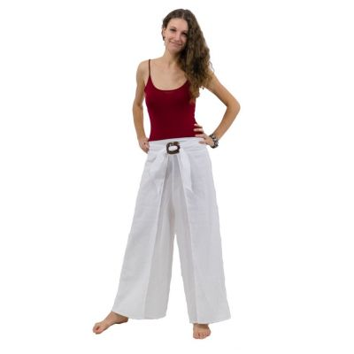 Trousers with a coconut buckle Chantana Putih | UNISIZE (equals S/M)