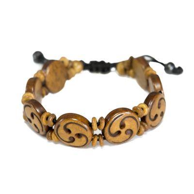 Bracelet Celtic spiral