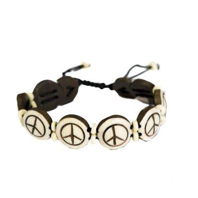 Bracelet Peace - white