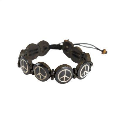 Bracelet Peace - black