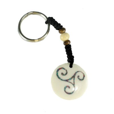 Key chain Celtic spiral