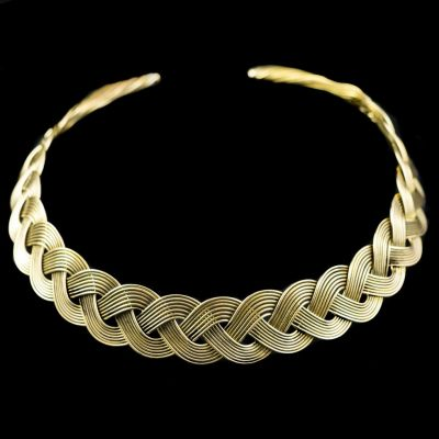 Brass necklace Aphrodité