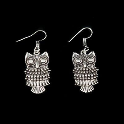 Earrings Owls