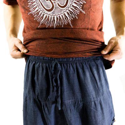 Men's trousers with low crotch Jatan Biru