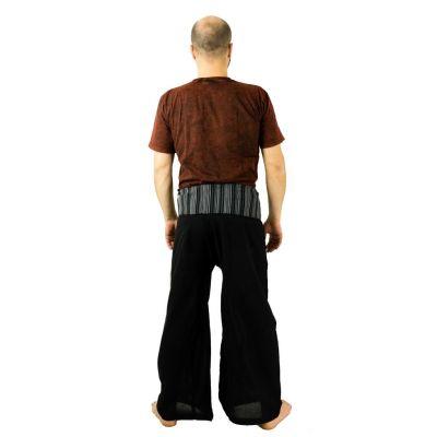 Wrap trousers - Fisherman's Trousers - black