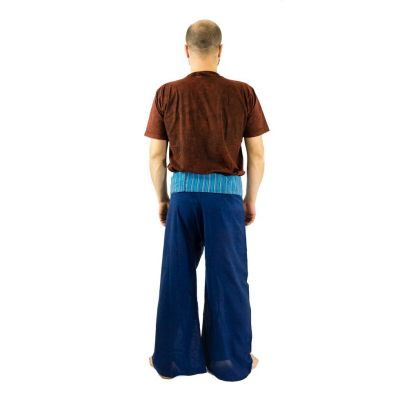 Wrap trousers - Fisherman's Trousers - blue
