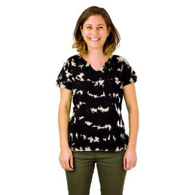 Women's t-shirt with short sleeves Benita Black