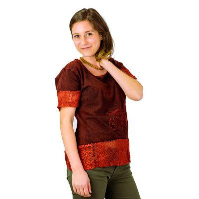 Women's t-shirt with short sleeves Sudha Mawar