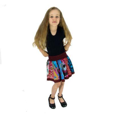 Children's skirt Karishma Burgundy