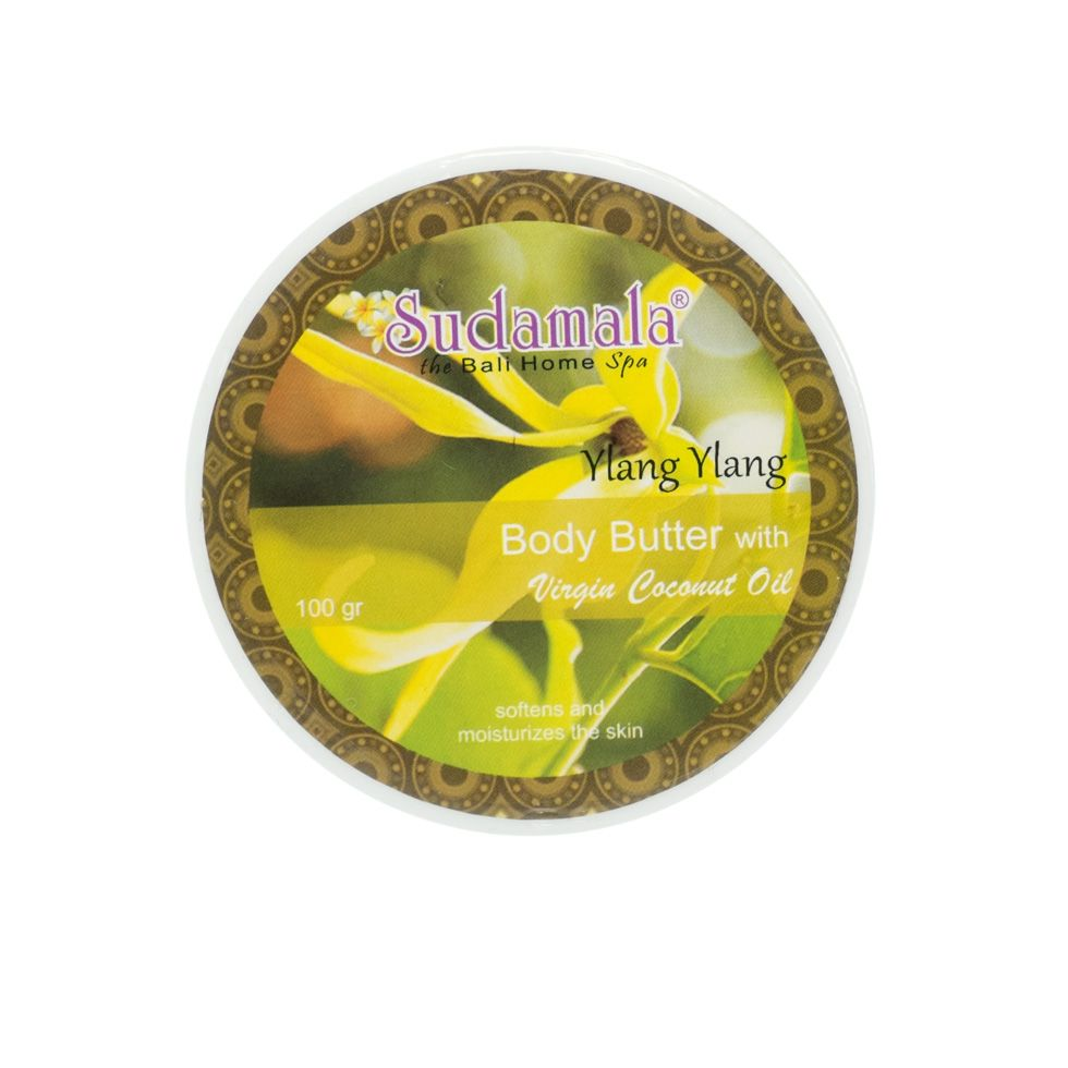 Coconut body butter with Ylang Ylang fragrance